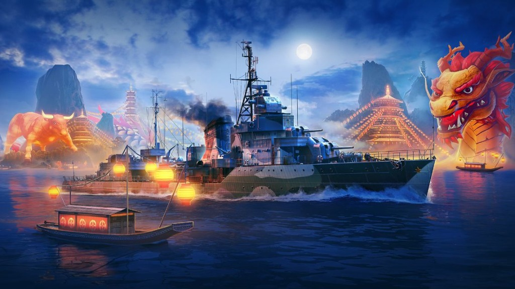 World of Warships - Foto: Divulgação