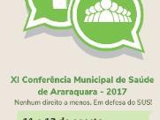 Cidade realiza Conferência Municipal de Saúde