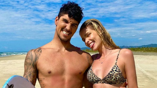 Yasmin e Gabriel Medina (Foto: Instagram/Reprodução) - Foto: Instagram/Reprodução