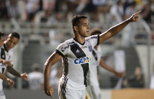 ACidade ON - Campinas - Yuri comemora gol da Ponte Preta (Foto: Denny Cesare/Código 19)