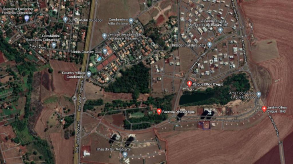 Zona Sul de Ribeirão Preto (Imagem: Reprodução) - Foto: ACidade ON - Ribeirão Preto